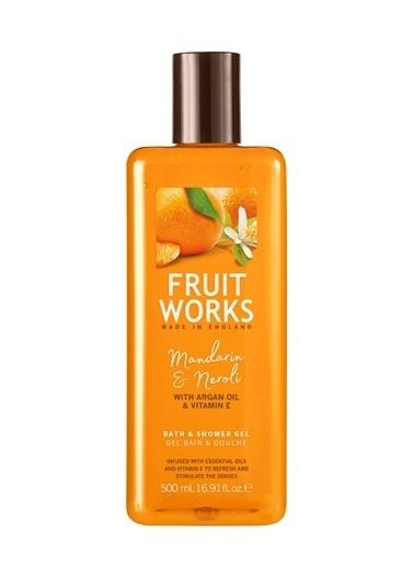 Fruit Works Mandarin & Neroli Duş Jeli 500 ml Renksiz